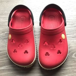 Mickey Mouse crocs size 12/13